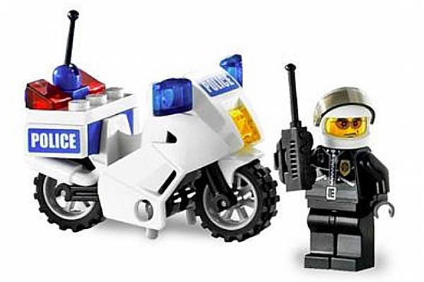 Лего милиция