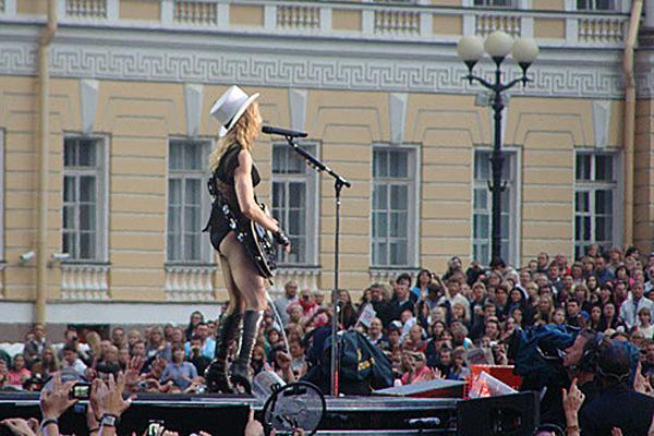 Концерт Мадонны в Санкт-Петербурге