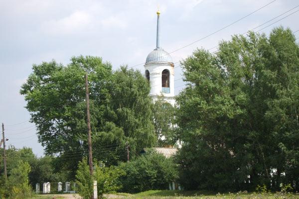 Свято-Покровский храм. село Архарово. Орловская область. Начало XXI века