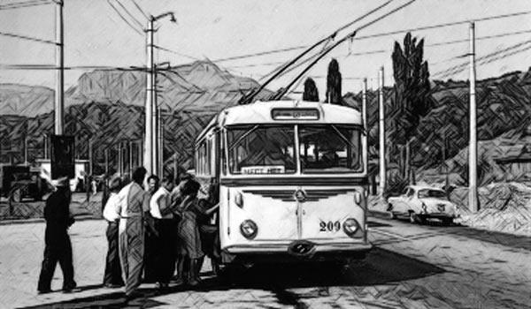 Крымский троллейбус (детское)
