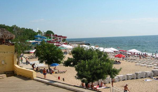 Пляж в Аркадии
