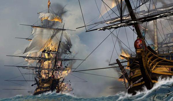 Бой с пиратами