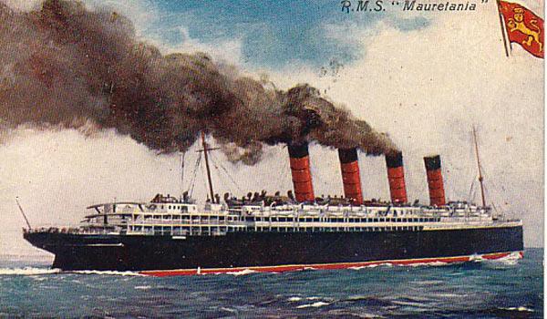 Почтовый пароход Мавритания