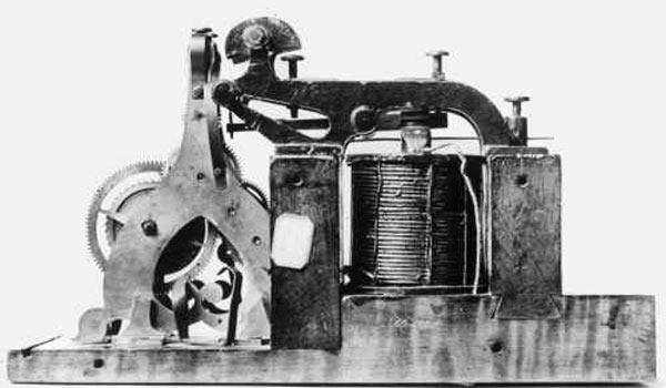 Первый телеграфный аппарат