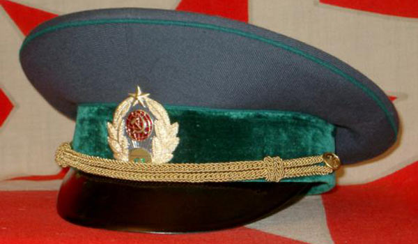Фуражка таможенника в составе ПВ КГБ СССР