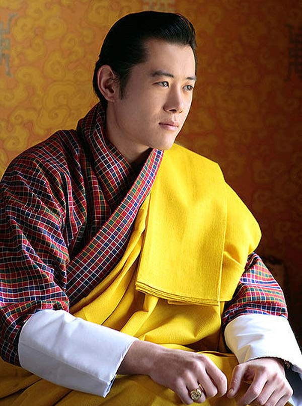 Правящий монарх Бутана Jigme Khesar Namgyel.