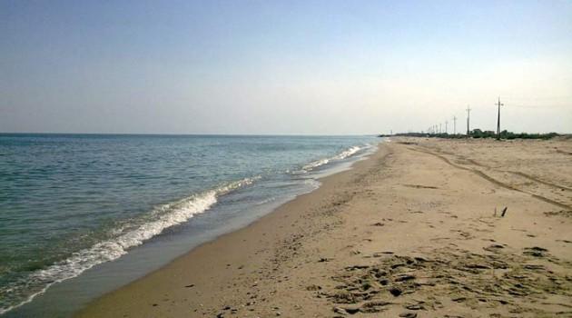 Песчаные пляжи рядом с Одессой.