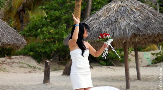 Свадьба на берегу Атлантического океана: невеста.