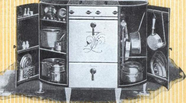 Компактный кухонный буфет. США. 1932 год.