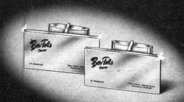 Гравированные запонки (Чикаго, США, 1968 год).