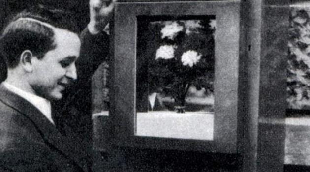 Первые роботы-флористы. Берлин, 1935 год.