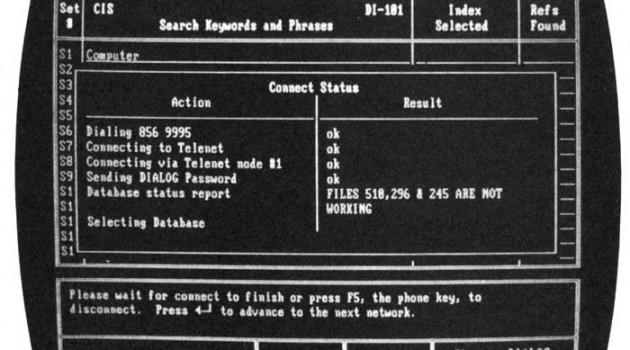 За год до появления интерфейса Microsoft Windows. 1984 год