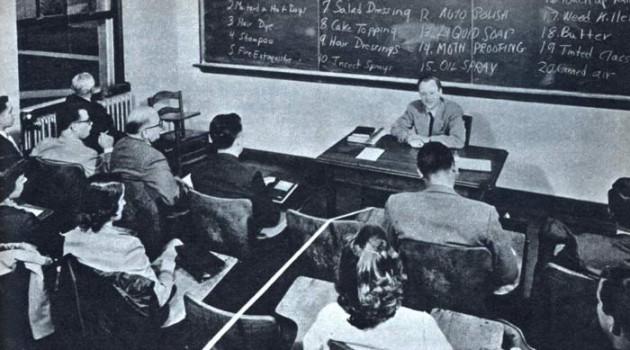 """Тренинг """"как заработать миллион"""" до использования игры Монополия. США, 1953 год."""