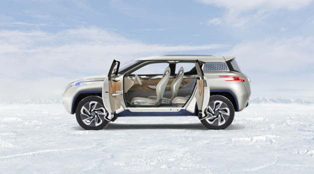 Nissan TeRRA SUV Concept.