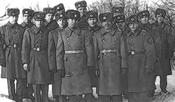 Дембеля Советской Армии