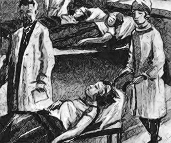 Лиза проглотила иголки и умирает в больнице