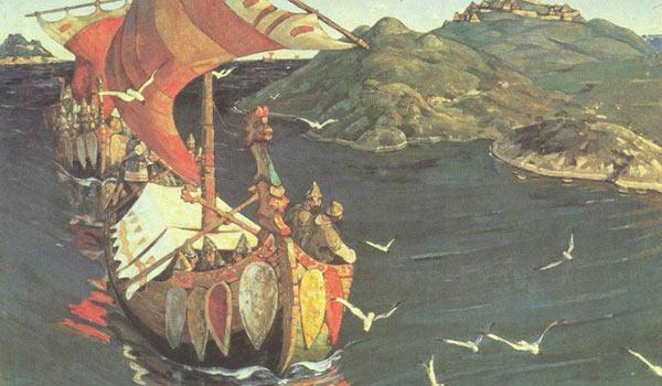 Древние мореплаватели нужные опознавательные символы наносили на паруса
