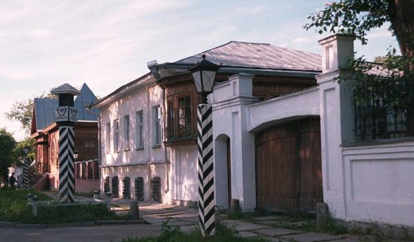 Почтовая станция в Екатеринбурге начала ХХ века