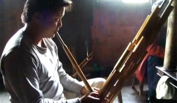 Китайский музыкальный инструмент шенг