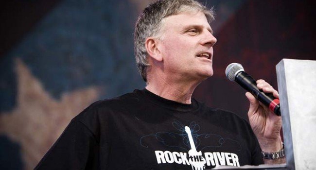 Американский протестантский проповедник William Franklin Graham