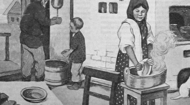 """Быт советских крестьян. """"Здоровая деревня"""", 1928 год."""