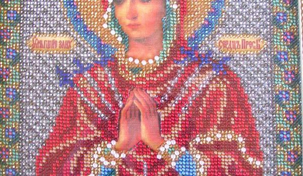Пресвятая Богородица. Умягчение злых сердец.