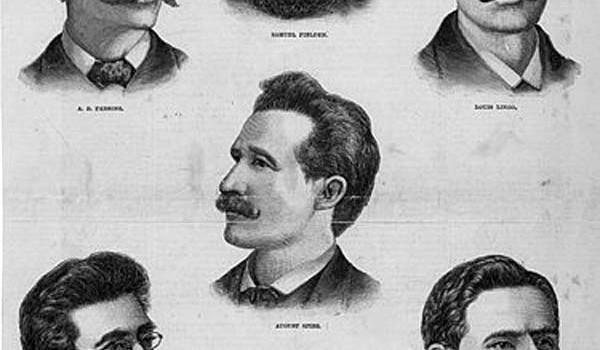 Жертвы первомайских волнений 1886 года в Чикаго (США).