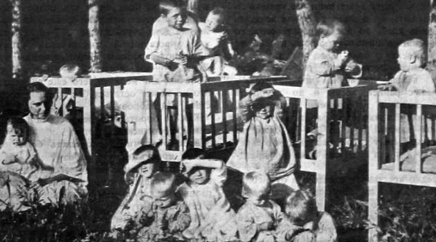 Сельские ясли. 1926 год.