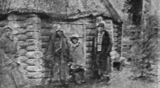 Бурятская изба. 1928 год.
