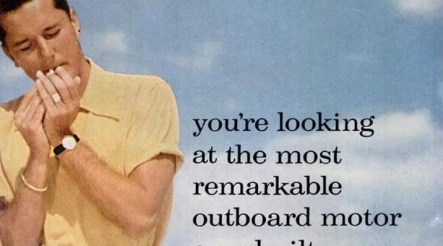 Это реклама из американских журналов конца пятидесятых.