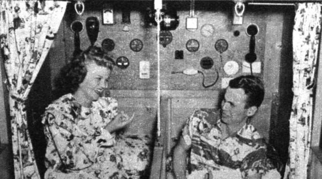 Семейное гнездышко на случай атомной войны. США. 1950 год.