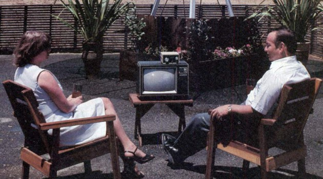 """Антенна типа """"сателлит"""". США, 1981 год."""